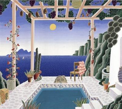 Aegean Garden by Thomas Mcknight