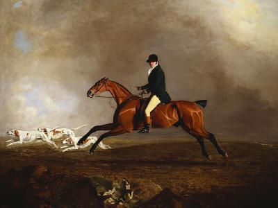 Thomas Mellish on His Hunter 'saucebox'-Benjamin Marshall-Giclee Print