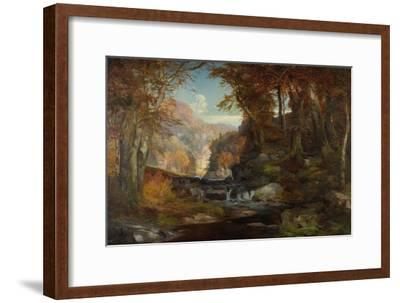 A Scene on the Tohickon Creek: Autumn, 1868