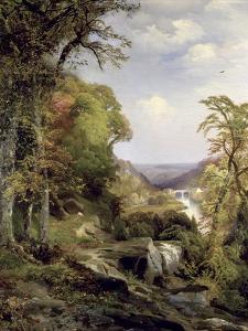 Along the Wissahickon by Thomas Moran