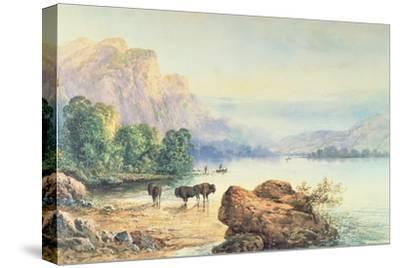 Buffalo Watering, 1887