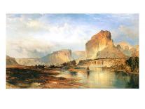 The Rapids Above Niagara-Thomas Moran-Giclee Print