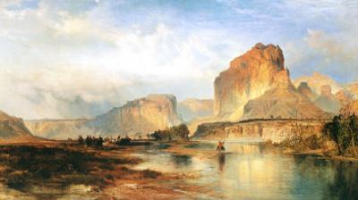 Cliffs of Green River