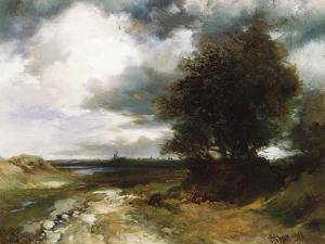 East Moriches, 1900 by Thomas Moran