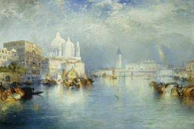 Grand Canal, Venice, 1903 by Thomas Moran