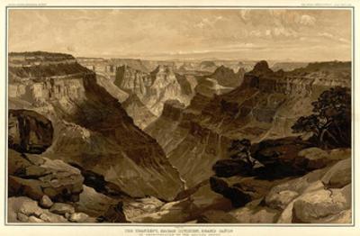 Grand Canyon: The Transept, Kaibab Division, c.1882 by Thomas Moran