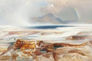 Hot Springs of the Yellowstone, 1872 by Thomas Moran