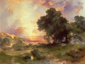 Landscape, 1920 by Thomas Moran