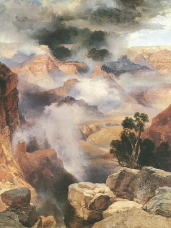 Mist in the Canyon by Thomas Moran