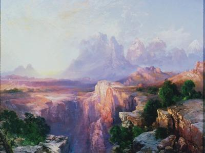 Rock Towers of the Rio Virgin, 1908 by Thomas Moran