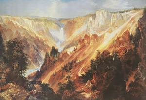 The Grand Canyon of the Yellowstone by Thomas Moran