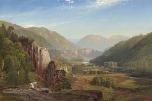 The Juniata, Evening, 1864 by Thomas Moran