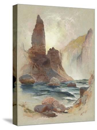 Tower at Tower Falls, Yellowstone, 1872