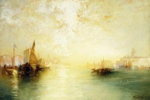 Venice, 1909 by Thomas Moran
