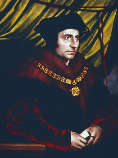 Thomas More, English Statesman, Scholar and Saint, C1527-Hans Holbein the Younger-Giclee Print