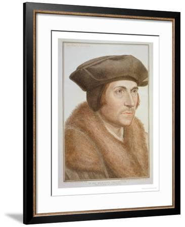 Thomas More, Lord Chancellor-Hans Holbein the Younger-Framed Giclee Print