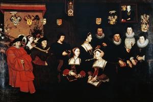 Thomas Moro with His Family, Tudor, England, 16th Century