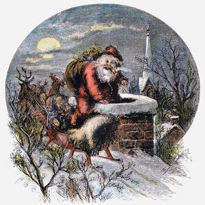 A Visit From St Nicholas by Thomas Nast