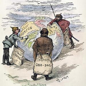 Cartoon: Imperialism, 1885 by Thomas Nast