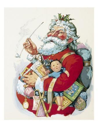 Merry Old Santa Claus