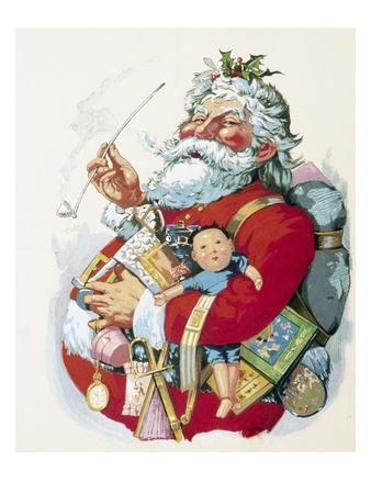 Merry Old Santa Claus