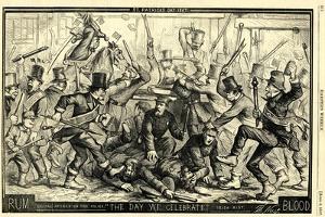 St. Patrick's Day, 1867 by Thomas Nast