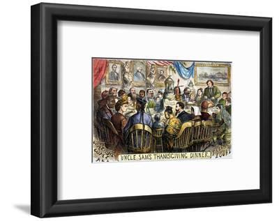 Thanksgiving Cartoon, 1869