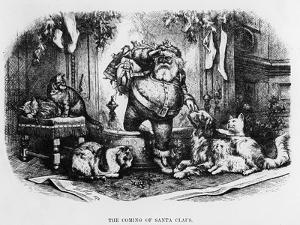The Coming of Santa Claus, 1872 by Thomas Nast