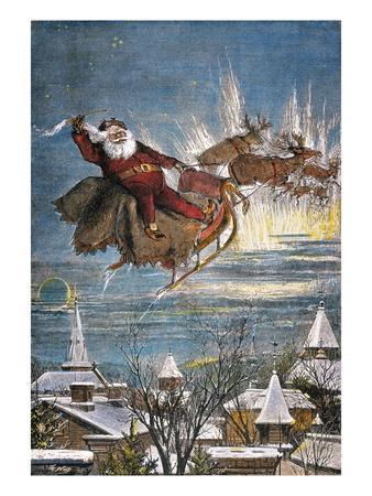 Thomas Nast: Santa Claus