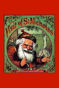 Visit of St. Nicholas by Thomas Nast