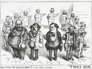 Who Stole the People's Money , from The New York Times, 1871 by Thomas Nast