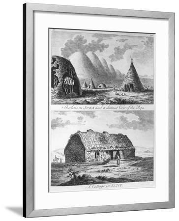 Sheelins in Jura, Paps and a Cottage of Islay, A Tour in Scotland, and Voyage to the Hebrides 1772