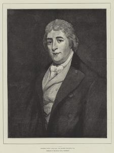 Charles Dibdin (1745-1814), Portrait in the Royal Naval Exhibition by Thomas Phillips