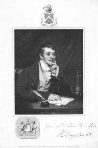 Humphry Davy, English Chemist, 1821 by Thomas Phillips