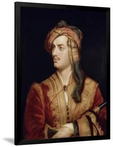 Portrait of George Gordon 6th Baron Byron of Rochdale in Albanian Dress, 1813 by Thomas Phillips