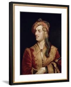Portrait of George Gordon 6th Baron Byron of Rochdale in Albanian Dress, 1813 by Thomas Phillips