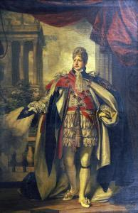 Portrait of King George Iv as Prince of Wales, Standing Full Length in Garter Robes by Thomas Phillips