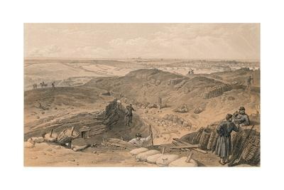 'Ditch of the Malakoff, Battery Gervais, and Rear of Redan', 1856