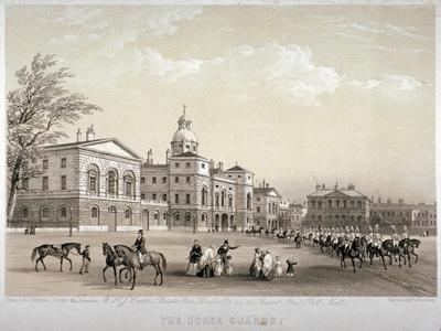 Horse Guards, Westminster, London, 1851