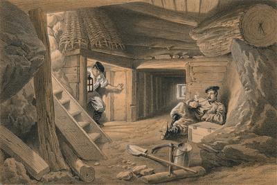 Mine in the Bastion Du Mat, 1856