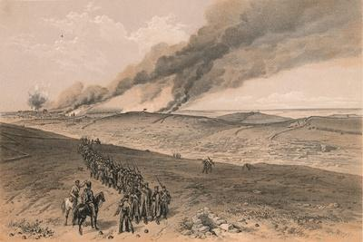 Redan and Advanced Trenches of British Right Attack, 1856