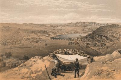 The Town Batteries or Interior Fortifications of Sebastopol, 1856