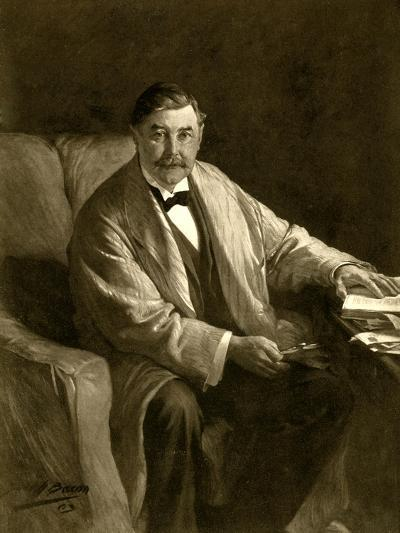 Thomas Power O'Connor, Irish Journalist and Mp, 1910-John Henry Frederick Bacon-Giclee Print