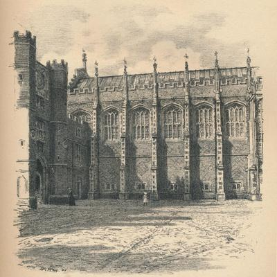 The Great Hall of Hampton Court Palace, 1902
