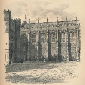 The Great Hall of Hampton Court Palace, 1902 by Thomas Robert Way