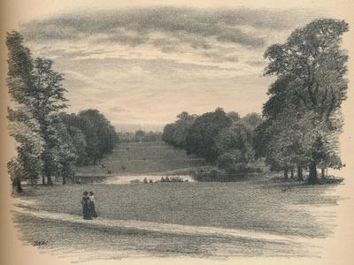 The Vista, Kensington Palace, 1902