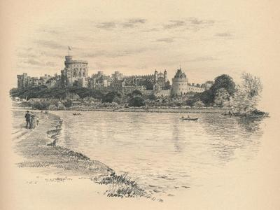 Windsor Castle from the River, 1902