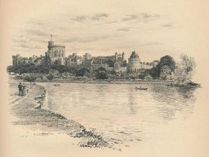 Windsor Castle from the River, 1902 by Thomas Robert Way