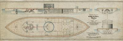 Uss Monitor General Plans