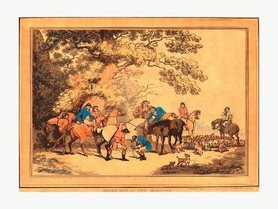 Thomas Rowlandson (British--Giclee Print